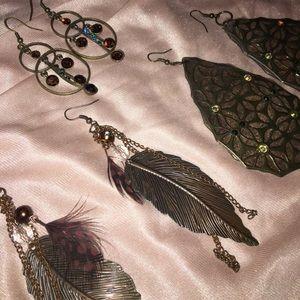 Bronze jewelry bundle